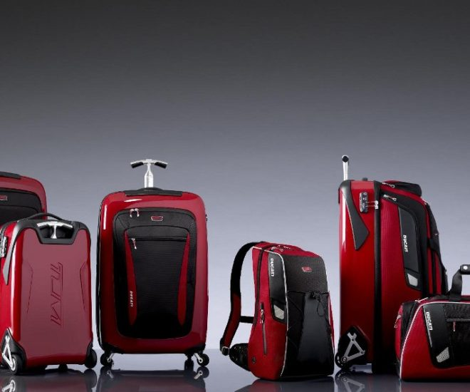 0f6cfcdc4e TUMI Ducati Inspired Range of Luggage Bags