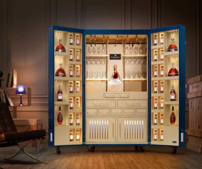 martell luxury trunk