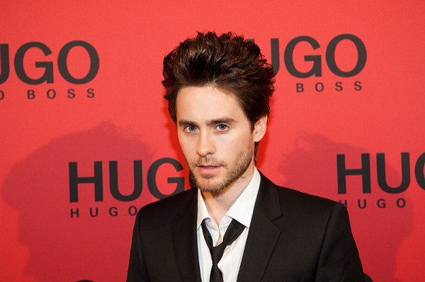 Jared Leto Is The New Face Of Hugo Boss Fragrance