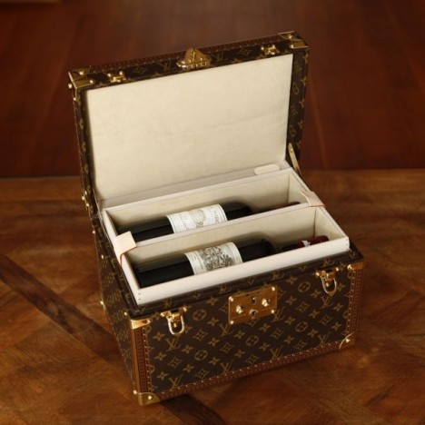 Louis Vuitton wine travel case