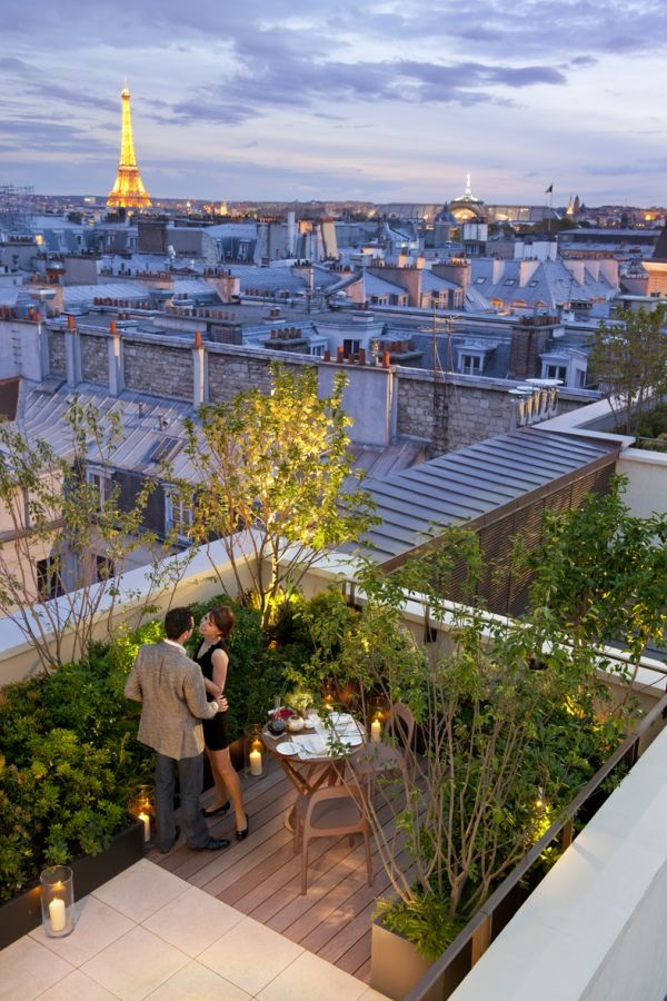 Mandarin Oriental Paris Private terrace