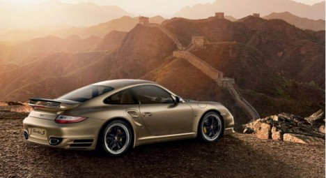 Porsche 911 Turbo S China