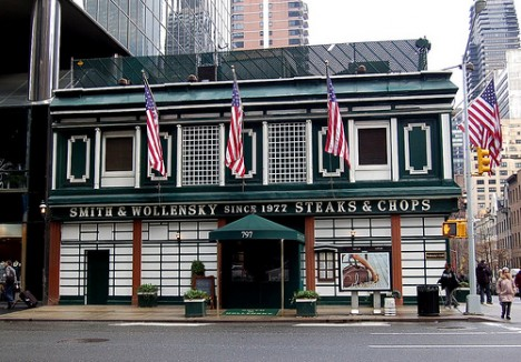 Smith and Wollensky steak house