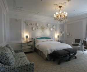 St Regis Tiffany Suite bedroom