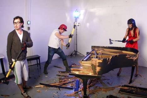 The Destruction Company piano