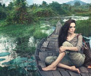 Angelina Jolie Core Values louis vuitton