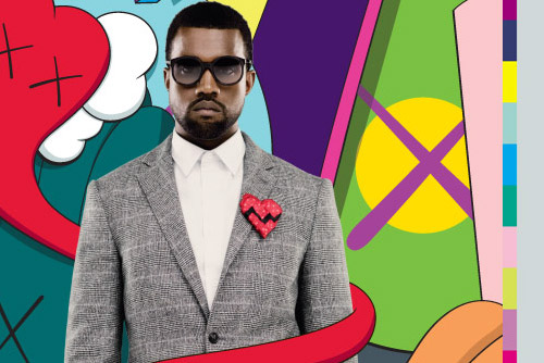 kanye west 808s heartbreak kaws