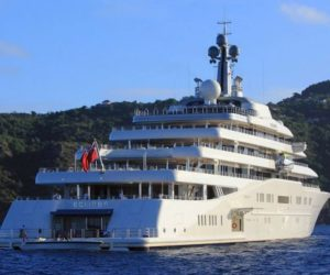Eclipse world largest private yacht