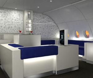 Korean Air Absolut celestial bar