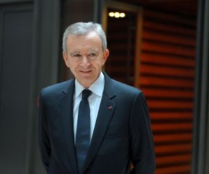 LVMH Chairman Bernard Arnault