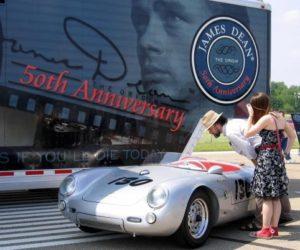 Porsche Spyder 550 James Dean