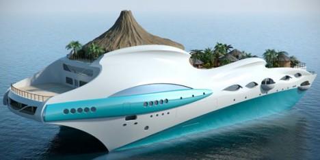 Tropical Island Paradise yacht photo