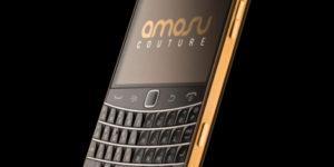 Amosu Blackberry Bold 9900 Gold Edition