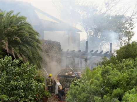 Branson Necker Island Home Destroyed by fire
