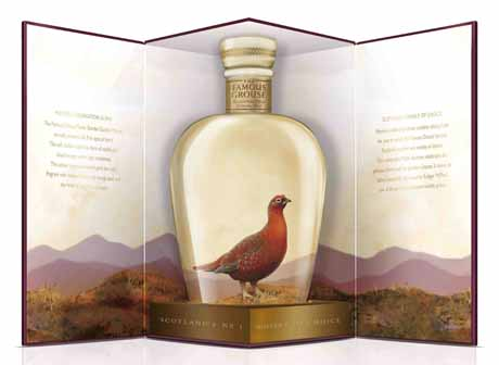 Famous Grouse Celebration Blend Decanter bottle