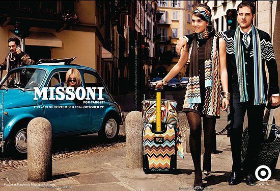 Missoni for Target ad campaign