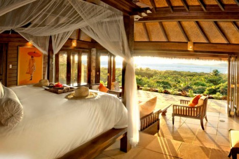 Necker Island main house bedroom
