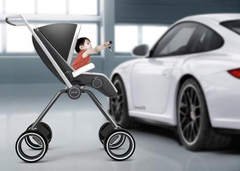 Porsche Design baby stroller