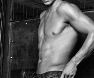 Rafael Nadal Armani jeans ad