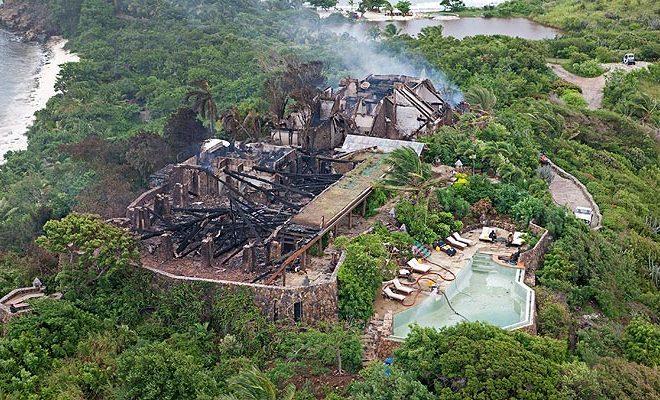 necker island destroyed
