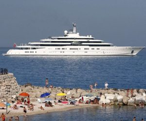 Superyacht Eclipse Antibes