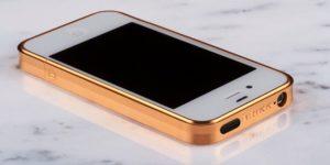 Brikk Trim Titanium Case for iPhone