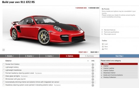 Build your own 911 GT2 RS