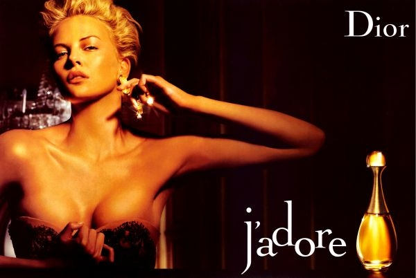 Charlize Theron Jadore Dior ad