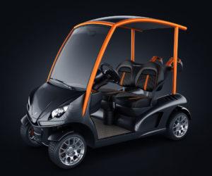 Garia Mansory golf car