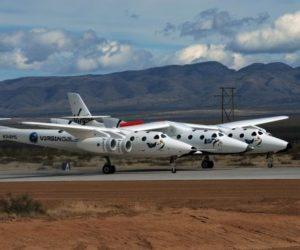 Virgin Galactic VSS Enterprise spacecraft