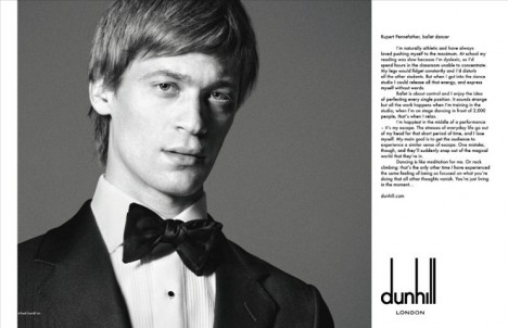 Voice Alfred Dunhill 2011 Campaign