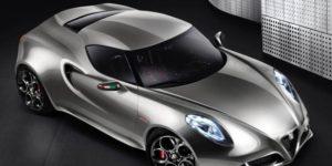 Alfa Romeo updates 4C Concept