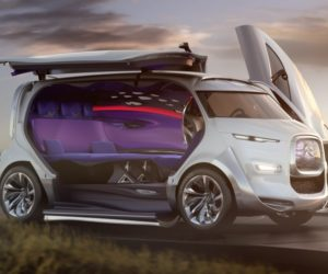 Citroen tubik high-tech minivan concept