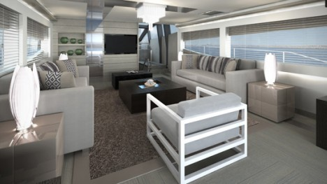 Pearl 75 yacht interior
