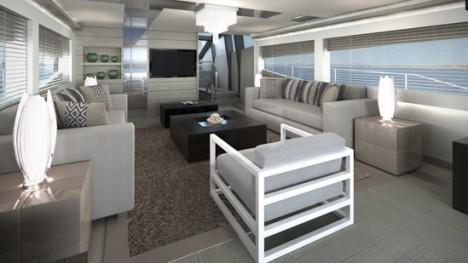 Pearl 75 yacht interior