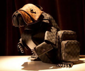Animal sculpture Louis Vuitton bags