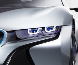 BMW laser light