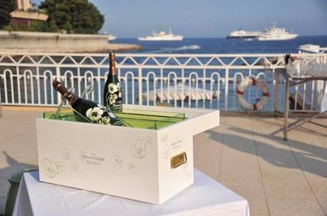 Wedding Perrier Jouet Champagne
