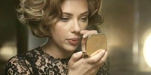"Scarlett Johansson in ""The One"" for Dolce & Gabbana"