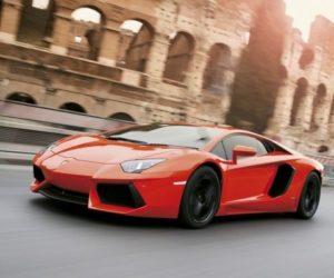 Lamborghini Aventador Rome