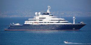 Superyachts sailing to London Olympics