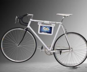Samsung Galaxy Tab bicycle