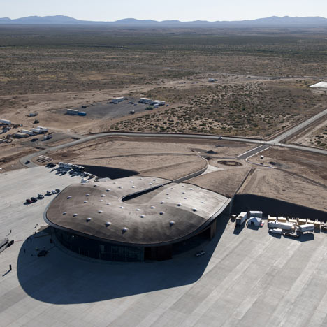 Spaceport America Foster and Partners