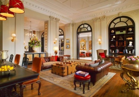 St Regis Florence Library