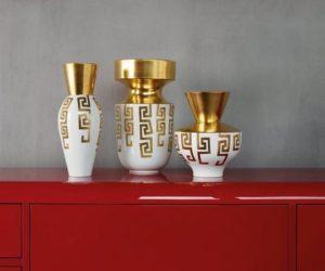 Versace Rosenthal vases