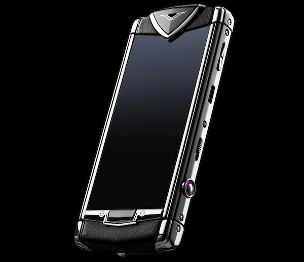Vertu Constellation T Black leather
