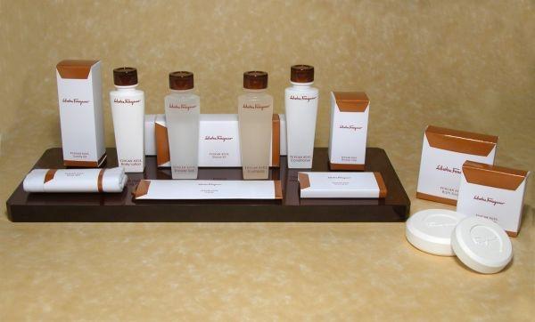Waldorf Astoria Salvatore Ferragamo amenity kits
