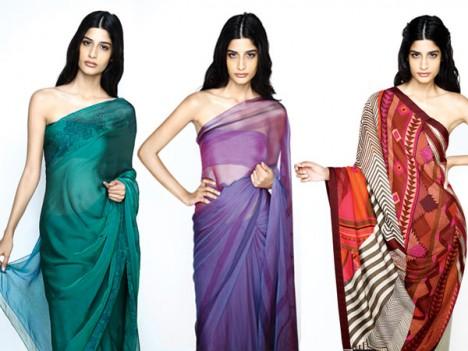 hermes indian sari