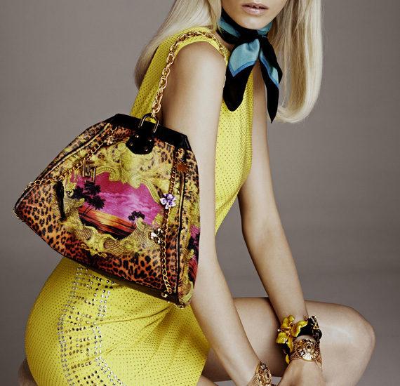 versace H&M lookbook women