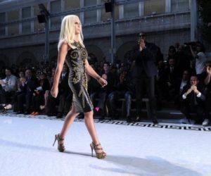 Donatella Versace H&M collection